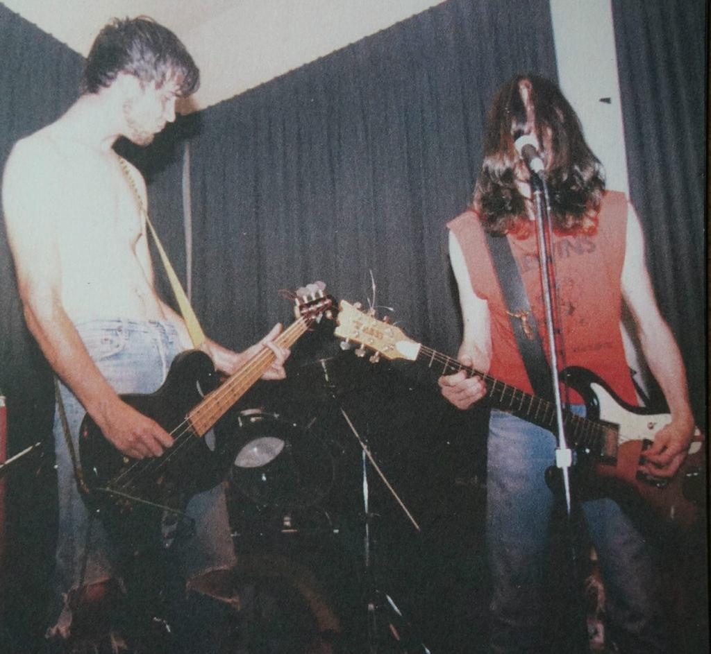 Um dos ensaios da banda (foto: acervo Sounds Like Us)