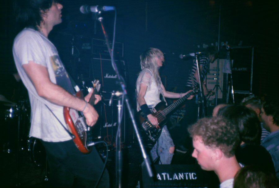 Sonic Youth ao vivo em 1987