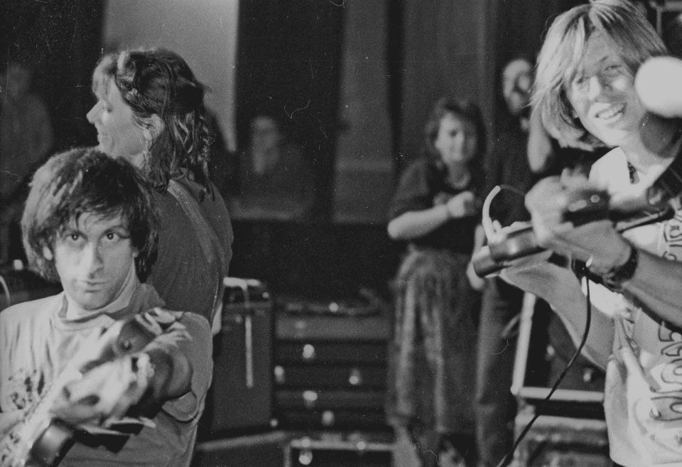 Lee Ranaldo e Thurston Moore ao vivo em 1989