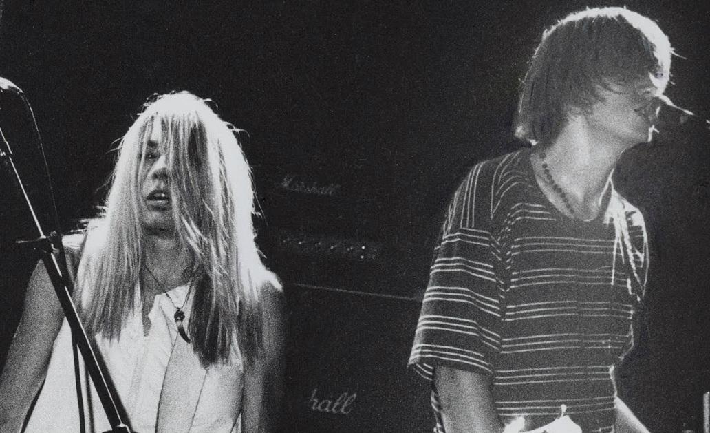 Sonic Youth ao vivo em 1990