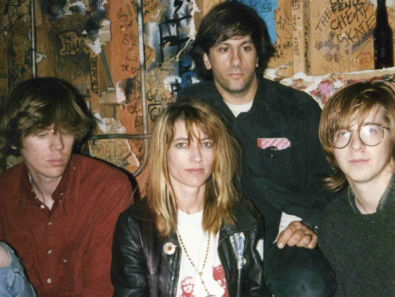Sonic Youth na fase do disco Sister